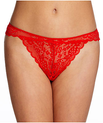 Frederick's of Hollywood Lydia Rose Lace Thong