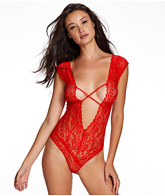 Frederick's of Hollywood Lydia Rose Lace Teddy