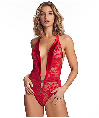 Frederick's of Hollywood Jacinda Plunge Lace Teddy