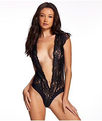 Frederick's of Hollywood Nova Lace Plunge Teddy