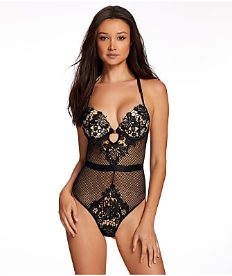 Frederick's of Hollywood Alexa Zoe Push-Up Teddy