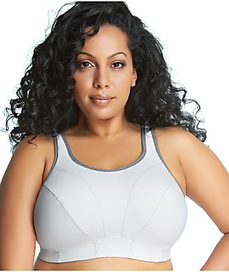 Goddess Mid-Impact Wire-Free Sports Bra