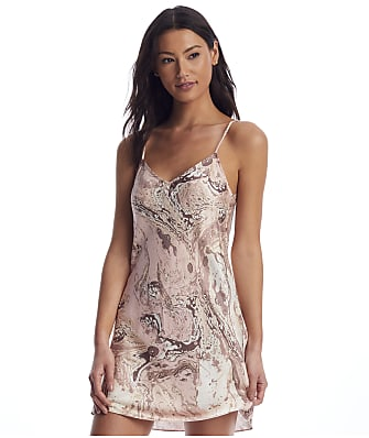 Ginia Marble Collection Silk Chemise