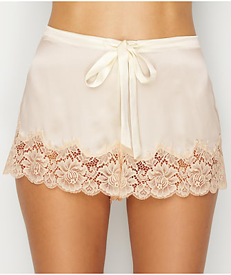 Ginia Silk Lace Trim Sleep Shorts