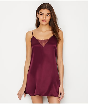 Ginia Runner Lace Silk Chemise