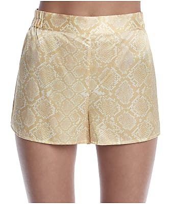 Ginia Serpentine Silk Shorts
