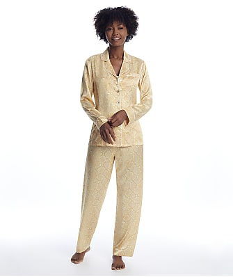 Ginia Serpentine Silk Pajama Set