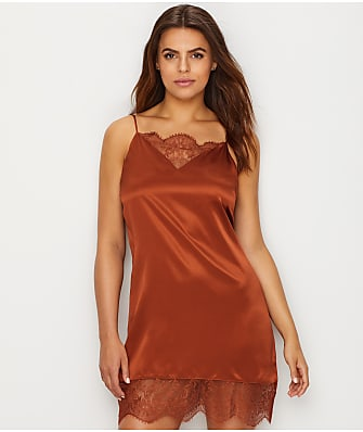 Ginia Silk & Chantilly Lace Chemise