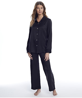 Ginia Washable Silk Pajama Set