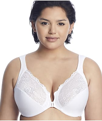 Glamorise Wonderwire Front-Close Bra