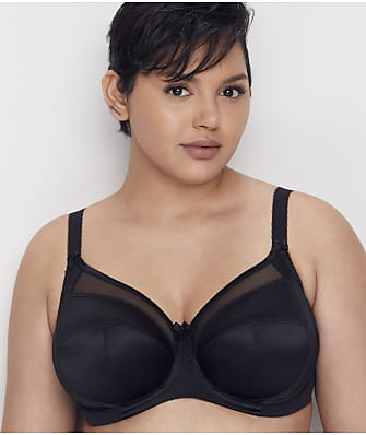 Goddess Keira Satin Side Support Bra