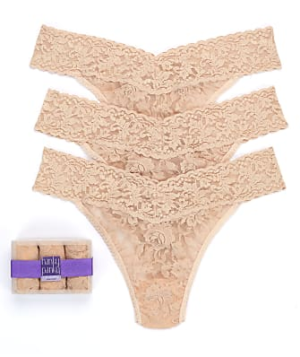 Hanky Panky Signature Lace Original Rise Thong 3-Pack