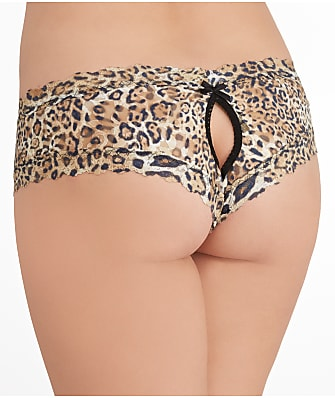 Hanky Panky After Midnight Leopard Crotchless Hipster