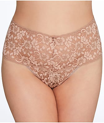 Hanky Panky Plus Size Cross Dyed Retro Thong