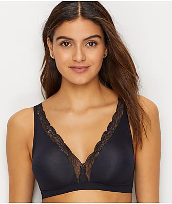 Hanro Cotton Lace Wire-Free Bra