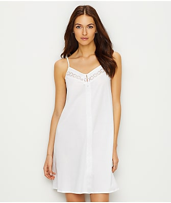 Hanro Hazel Knit Cotton Chemise