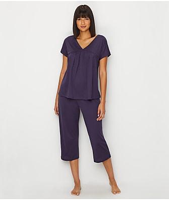 Hanro Lotta Knit Cropped Pajama Set