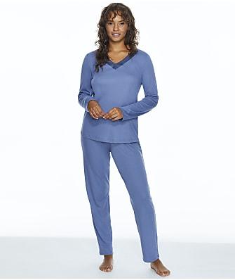 Hanro Jade Knit Pajama Set