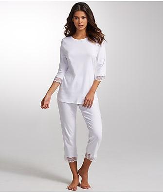 Hanro Valencia Knit Pajama Set