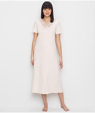 Hanro Moments Knit Long Nightgown