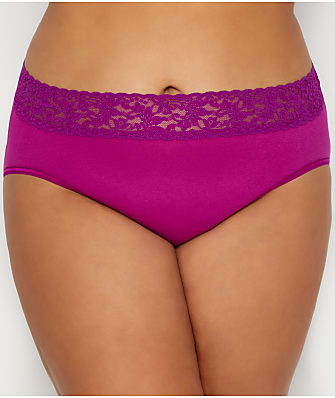 Hanky Panky Plus Size Organic Cotton Brief
