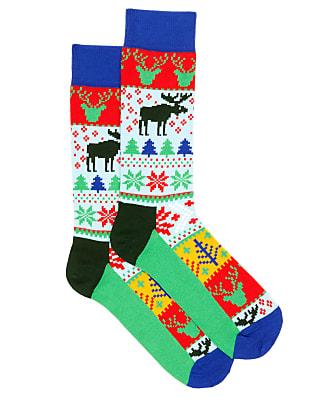 Happy Socks Men's Fair Isle Socks