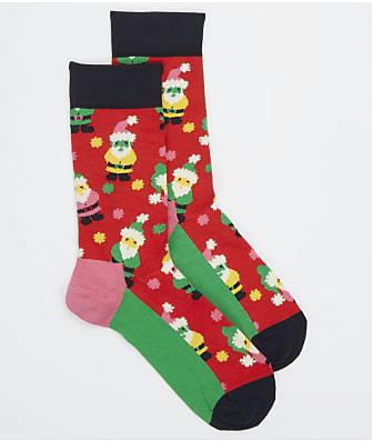 Happy Socks Santa Crew Socks