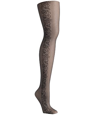 Hanes Tattoo Floral Control Top Fashion Tights