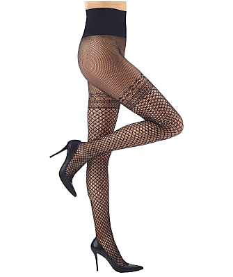 Commando Deco Faux Thigh High Pantyhose