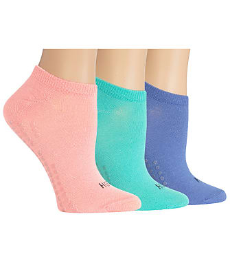 Hot Sox Yoga Non-Skid Socks 3-Pack