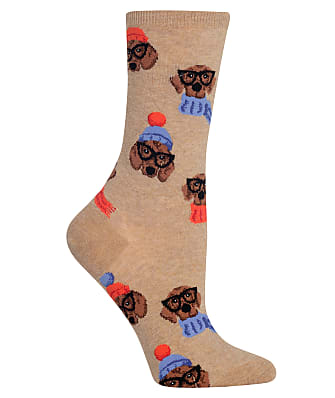 Hot Sox Dressed Dogs Crew Socks
