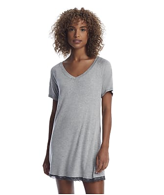 Honeydew Intimates Heather Grey All American Knit Sleep Shirt