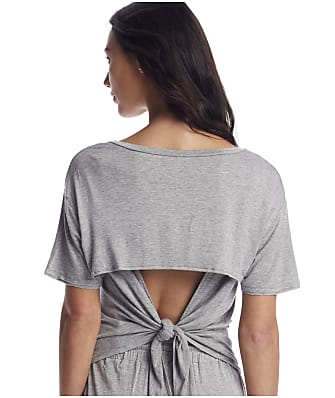 Honeydew Intimates Not Today Tie Back Knit Lounge Tee