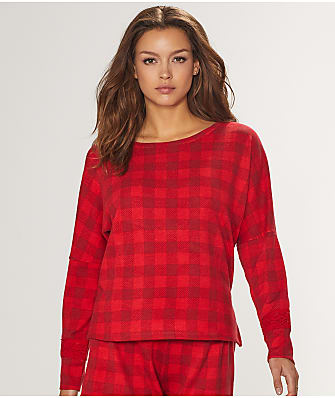 Honeydew Intimates Snooze Button Knit Lounge Shirt