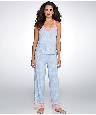 Honeydew Intimates Lazy Sunday Modal And Lace Pajama Set