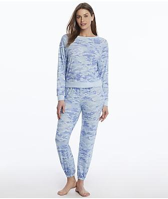 Honeydew Intimates Star Seeker Camo Knit Pajama Set