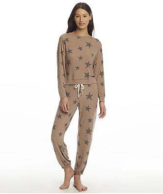 Honeydew Intimates Star Seeker Desert Stars Knit Pajama Set