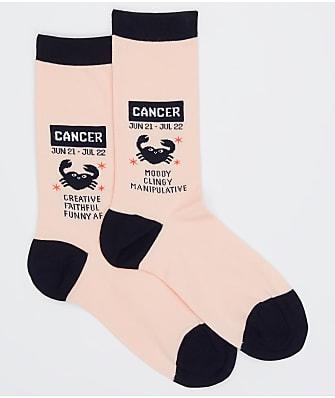 Hot Sox Cancer Crew Socks