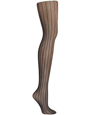 Hanes Plus Size Curves Rib Net Tights