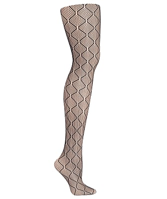 Hanes Plus Size Curves Diamond Net Tights