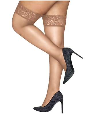 Hanes Plus Size Curves Thigh Highs
