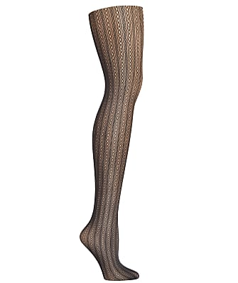 Hanes Plus Size Curves Pointelle Net Tights