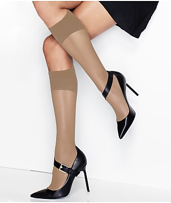 Hanes X-Temp Perfect Sheer Knee Highs 2-Pack