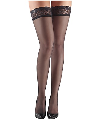Commando Up All Night Sheer Thigh Highs