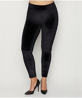 HUE Plus Size Velvet Leggings