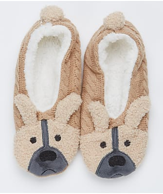 HUE Cozy Critter Slipper Socks