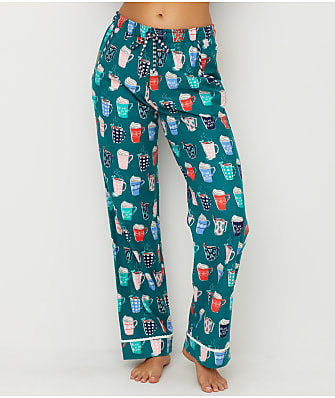 Jane & Bleecker Novelty Flannel Pajama Pants