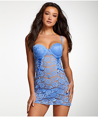 Jezebel Rachel Convertible Push-Up Chemise Set
