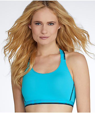 Jockey Sporties Mesh Crop Top Bra