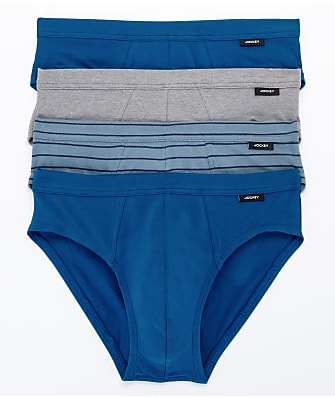 Jockey Cotton Stretch Low Rise Bikini 4-Pack